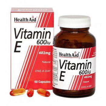 کپسول-ویتامین-ای-600-واحد-هلث-اید-30-عددی