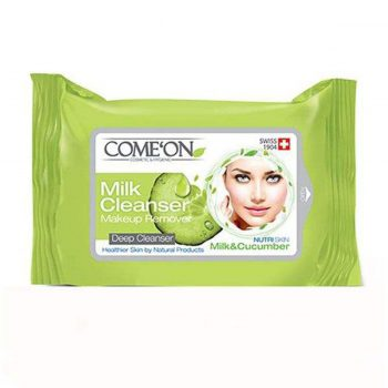 ComeOn-Cleansing-Milk-make-up-remover-Wet-Towel